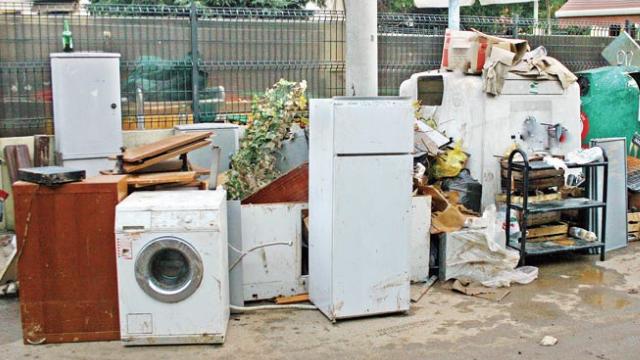 שירות עירוני חדש. איסוף פסולת אלקטרונית גדולה