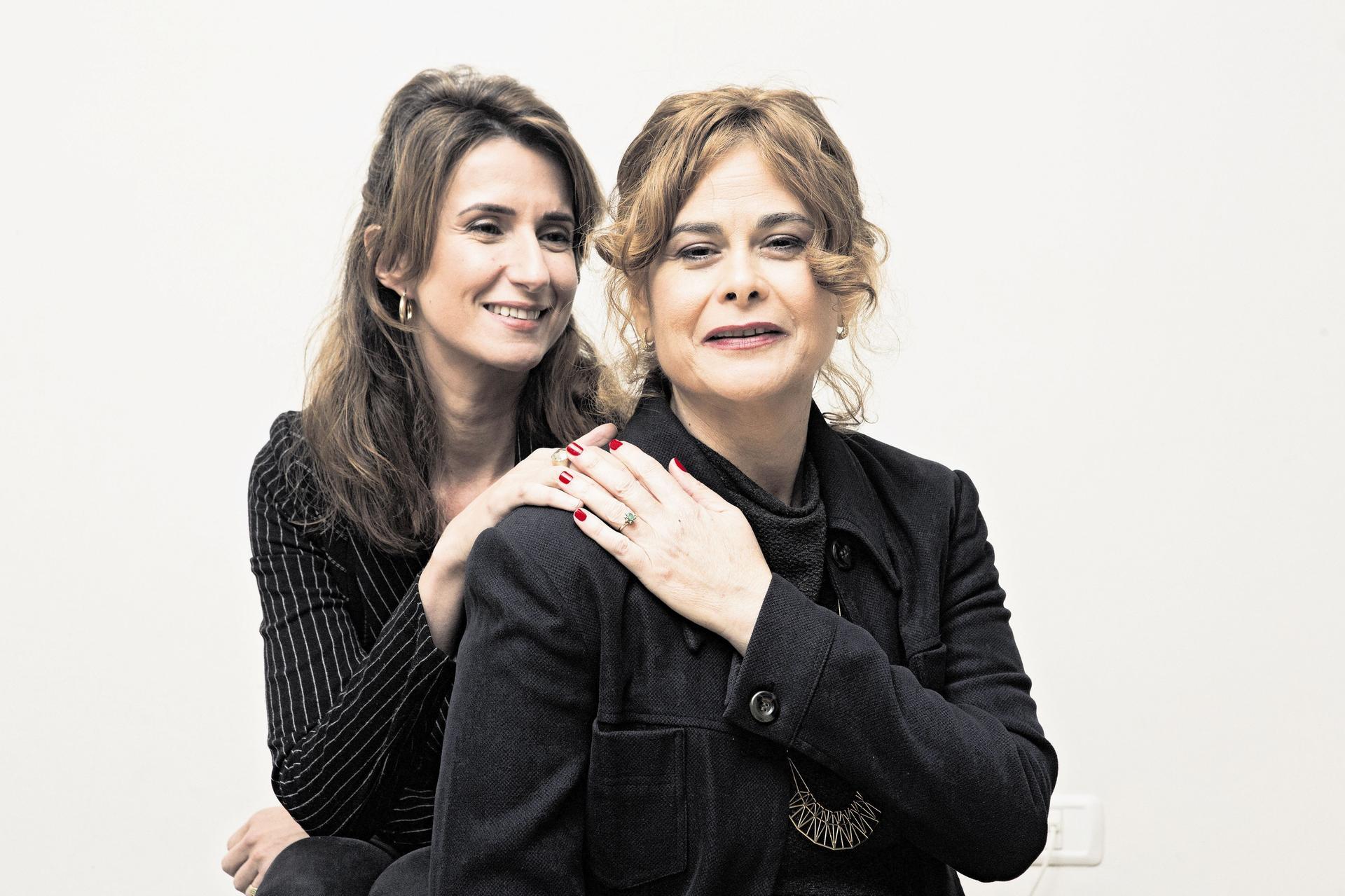 נינה פינטו-אבקסיס ונילי צרויה. צילום: תומי הרפז