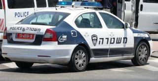 ניידת משטרה, צילום: אבי מועלם