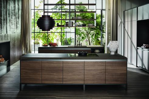 חומריות טבעית ומראה נקי, המצניע את כל הפעילות הרוחשת  של המטבח. מטבחי דאדא, טולמנ'ס