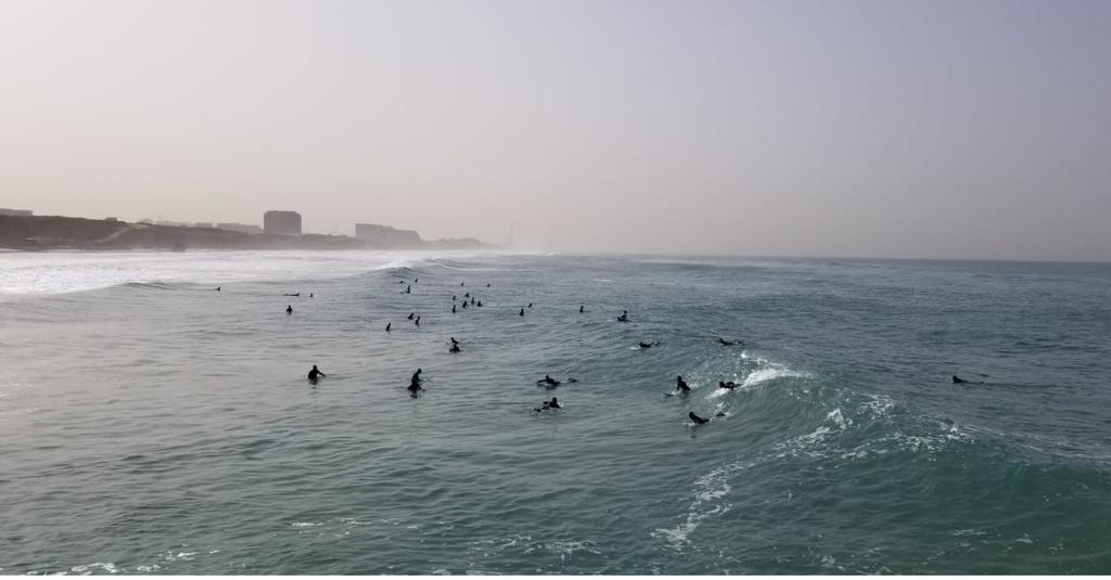 חוף הים בבוקר התאונה | צילום: רז בכר