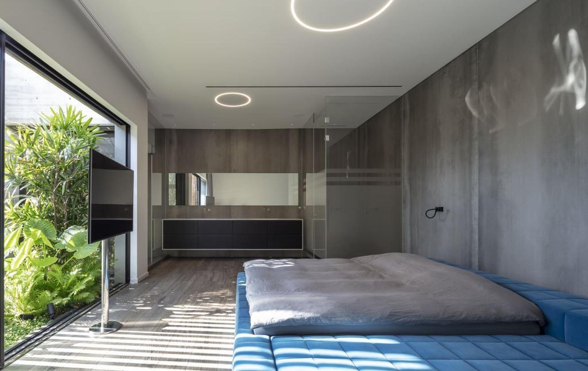 חדר השינה. צילום: עמית גירון