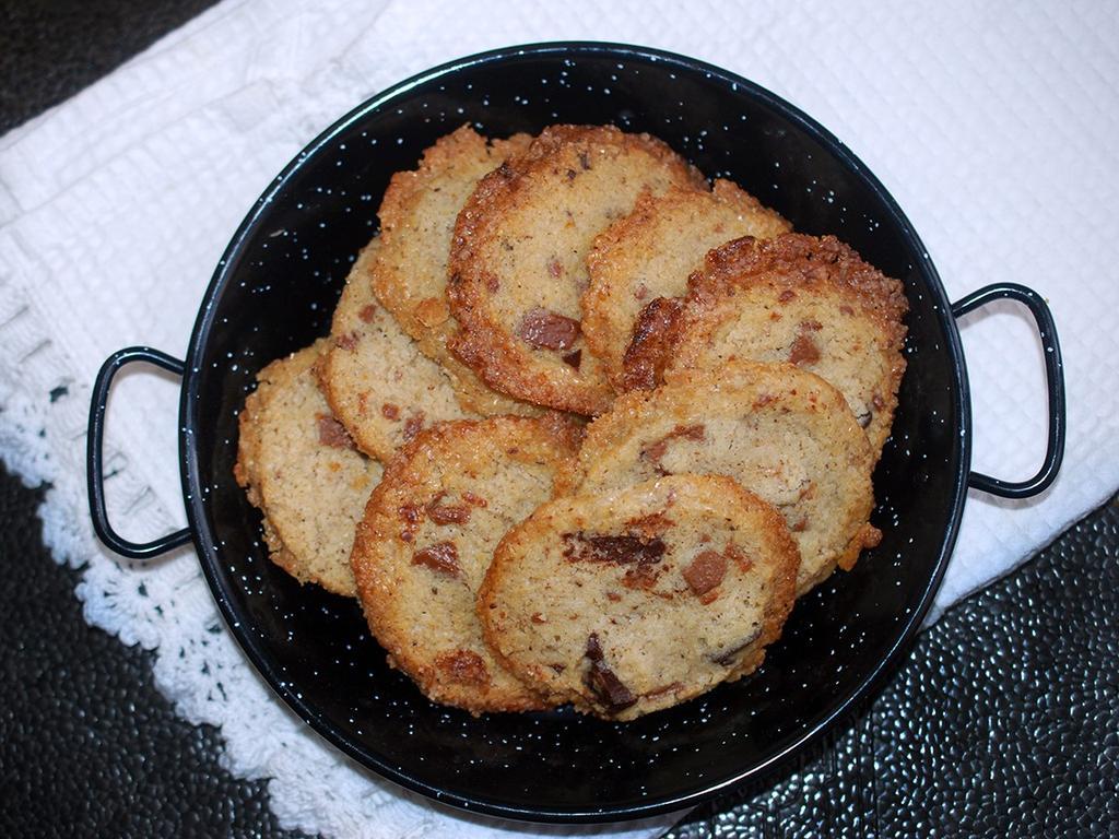 עוגיות חמאה מלוחה. צילום: אלונה זוהר