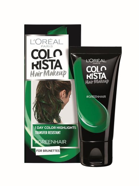 """קולוריסטה ג'ל לשיער לוריאל פריז, מחיר: 34.90 שקלים. יח""""צ"""