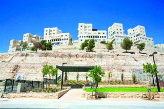 שכונת הר חומה בירושלים   צילום: שלומי כהן