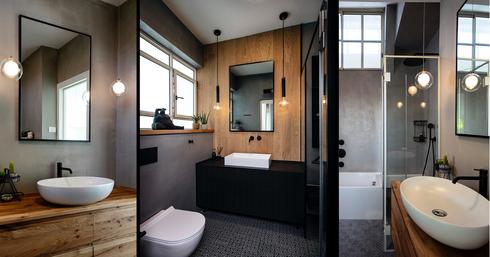 חדרי האמבט. מראה נקי   צילומים: בני אדם