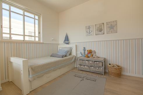 חדר הילדים המחודש. מרווח וצבעוני   צילום: לירן שמש