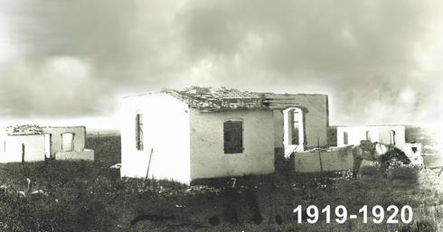 שלושת בתי האבן הראשונים שנהרסו ב-1921