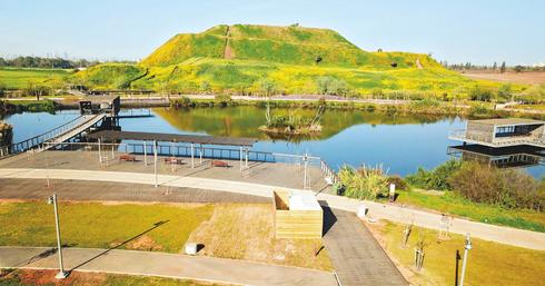 האגם האקולוגי בהוד השרון   צילום: יאיר שגיא