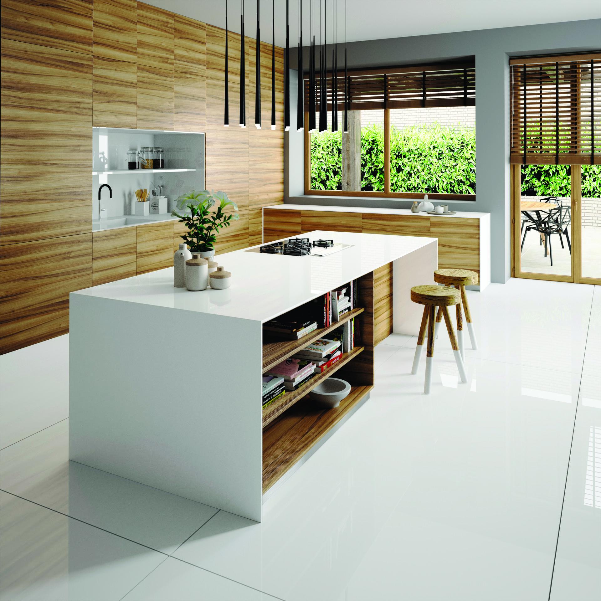 7. משטח סיילסטון למטבח דגם iconic white . קוסנטינו