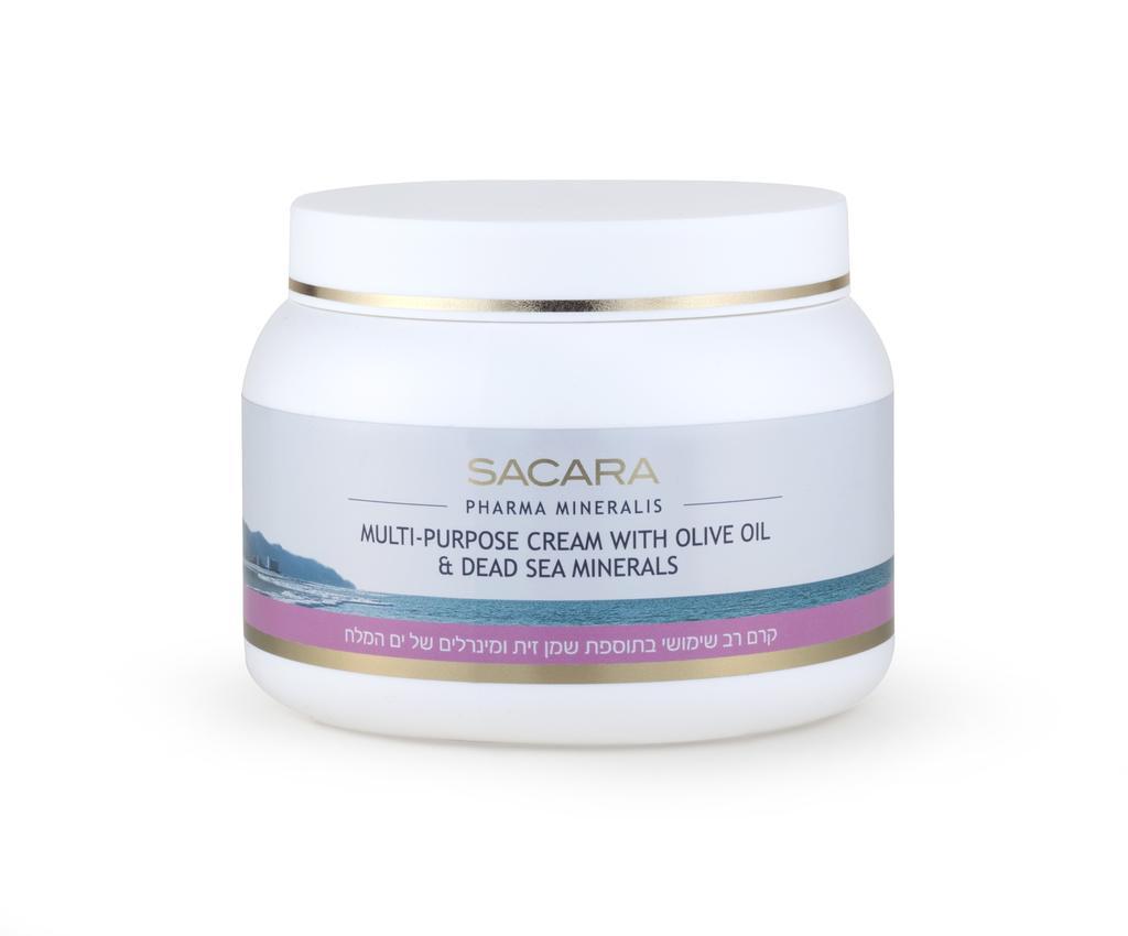סקארה - קרם רב שימוש בתוספת שמן זית ומינרלים של ים המלח. צילום: קית גלסמן